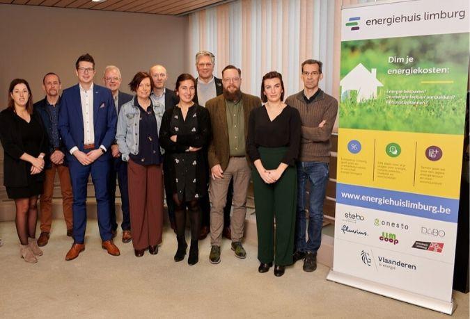 Persconferentie opening Energiehuis Limburg, December 2019, Beringen.