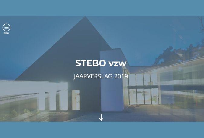 Het Stebo jaarverslag 2019 - Een overzicht van onze realisaties in enkele minuten tijd.