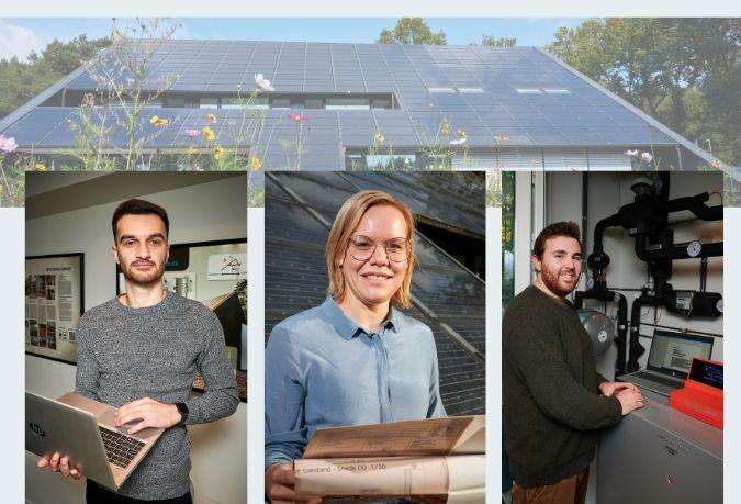 3 nieuwe collega's afdeling energie Stebo